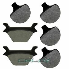 FIT HARLEY DAVIDSON FXRS LOW RIDER 1987 1988 1989-1993 FRONT & REAR BRAKE PADS