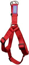 "Dog & Co Red Strong Nylon 1"" X 34"" Fully Adjustable Harness"