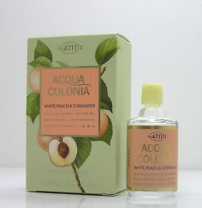 4711  Acqua Colonia White Peach & Coriander (Travel Size, 8 ml) NEU&OVP