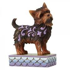 Jim Shore Heartwood Creek Izzie Yorkshire Terrier Dog Figurine New Boxed 4056959