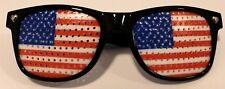 Lunette Supporteur Plastique Drapeau Américain US Cadeaux Jouet football