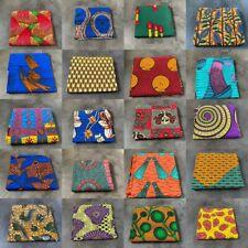 African Cotton Fabric Wax Print Ankara - Fat Quarter Bundle or Per Yard