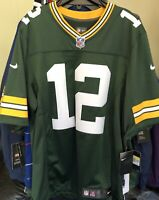BRAND NEW GREEN BAY PACKERS AARON RODGERS VAPOR UNTOUCHABLE NFL JERSEY ON FIELD