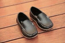 NEW Boys Formal Soft Rubber Sole Loafer Shoes, Black, size 5 6 7 8 9 10 11 12 13