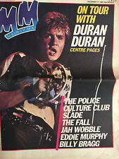 MM Melody Maker December 1983 Duran Duran The Police Eddie Murphy Jah Wobble