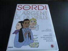 "DVD NF ""L'ARGENT DE LA VIEILLE"" Alberto SORDI, Silvana MANGANO / Luigi COMENCINI"