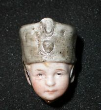 """Cabeza de Biscuit Antiguo para un soldado 1.36"""""""
