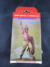 ANDREA MINIATURES 54mm Celtic warrior 1century b.c NEU-NEW-Never used OVP TOP