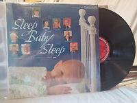 Sleep, Baby Sleep LP V/A Columbia 177 Newborn Lullabies