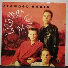CROWDED HOUSE - WHATER WITH YOU - INTO TEMPTATION - 45 GIRI 1988 NUOVO