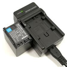 Mains Charger +1780mAh Battery for Canon BP-820 BP-828 HF G40 G30 HG20 HG21 XA25