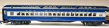 ARISTOCRAFT TRAINS G SCL Heavyweight Observation Car CNJ Blue Comet 31404 NEW