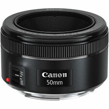 NEW Canon EF 50mm f/1.8 II Lens Black