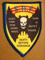 Army DEATH BEFORE DISHONOR Vietnam  USA Military Patch