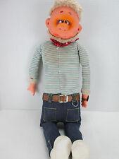 Vintage Handmade Doll Zim Head/Hands Leprechaun Troll Unique Cloth Body T