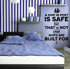 Vinyl Decal Quote Inspiration Motivation Living Room Wall Stickers Mural (133ig)
