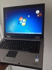 "PC TOSHIBA TECRA A9 CORE2 DUO @ 2,4 GHZ! 4 GB RAM 2500HD 15,4"" WIDE WIFI WIN7"