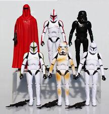 6Pcs Set Star Wars Clone Troopers Shadow Stormtrooper Action Figure Figurine Lot