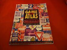 NES Game Atlas Strategy Guide Players Hint Book TMNT Zelda Castlevania MegaMan D
