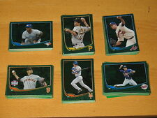 2013 Topps Emerald Green Cards Series 1 2 Update 252 lot -  You Pick 20 Cards