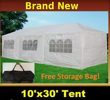 10'x30' Party Wedding Tent Gazebo Pavilion Catering New - White