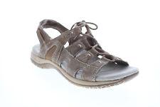 Earth Origins Atrevida Feminina Marrom Grande Couro Gladiador Sandálias Sapatos