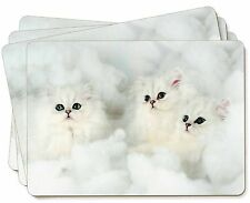 White Chinchilla Kittens Picture Placemats in Gift Box, AC-44P