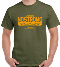 Nostromo 180286 - Mens T-Shirt Alien Film Movie  USCSS Weyland-Yutani