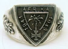 RIng, Fingerring DAK Deutsch-Afrika Korps Modell 1 Rommel