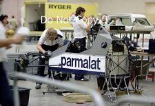 Brabham F1 Garage Detroit Grand Prix 1983 Photograph