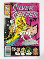 SILVER SURFER #1 (1987)   PREMIERE ISSUE OF VOLUME 3; NEWSSTAND VARIANT