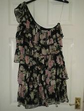 Lipsy Polyester One Shoulder Floral Dresses for Women