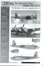 Aviaeology Decals 1/32 THE COASTAL STRIKE WINGS CANADIAN MOSQUITO F.II & FB.VI