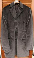 Cappotto uomo in velluto Oberon - Made in Italy- Listino 950€ - - Tg.54