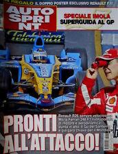 Autosprint 16 2006 Renault R26 veloce ma la Ferrari 248 punta in alto.  SC.58