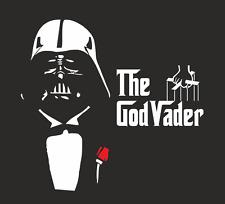 The Godvader Godfather Star Wars Parody Funny Gift Present T-shirt