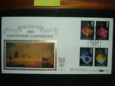 1989 Anniversari BENHAM BLCS 41 FDC & UNIONE INTERPARLAMENTARE, SW1 SHS CV £ 20