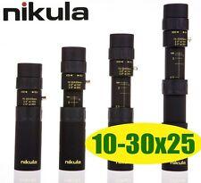 Nikula Mini 10-30x25 High Power Zoom Optical Monocular Telescopes Outdoor