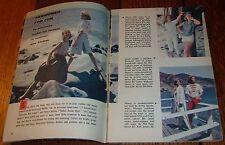 1960 OKLAHOMA TV GUIDE~SUMMER BEACH FASHION in MALIBU,CALIFORNIA~THE RIFLEMAN