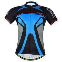Aogda Men's Cycling Jersey Top Novelty Cycle Bike Jersey Shirt Facial Makeup