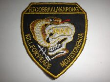 "Vietnam War US MACV-SOG RT COBRA ALAKAPONG ""KILL FOR PEACE"" Patch"