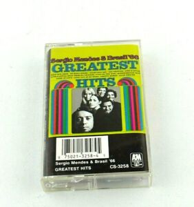 Sergio Mendes & Brasil '66 A&M CS-3258  Vintage Music Audio Cassette Tape