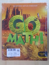 GO Math!: Student Edition & Practice Book Bundle Grade 5 2012 by HOUGHTON MIFFLI