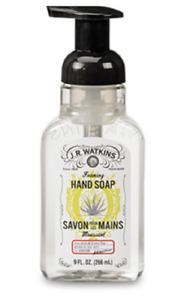J. R. Watkins Foaming Hand Soap, 9 fl oz (Choose Fragrance)