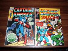 Captain America 124 - 255 and Annuals 2,3,4---lot of 24 comic books