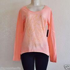 $73 Fox Racing Women's Reborn Long Sleeve Tee(two pieces) - Orange Sherbert sz S