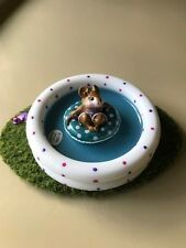 Wee Forest Folk Fun Float WTCA Lavender and Teal Special in Pool Display