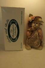 "New 2002 Bearington Collection Belle & Daisy Bears 14"" Plush Collectible w/ Box"