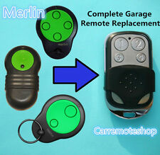Merlin M230T M842 M430R  M832 M844 Garage Door Roller Remote CONTROL Replacement