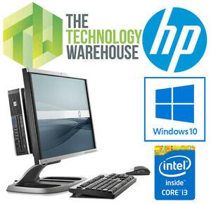 "HP 8200 AIO PC - 18.5"" All in One Computer - Intel CPU + SSD + Windows 10 Pro"